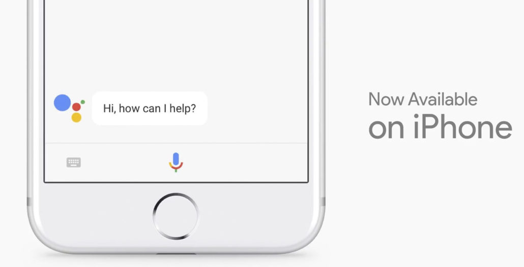 google assistant in ios