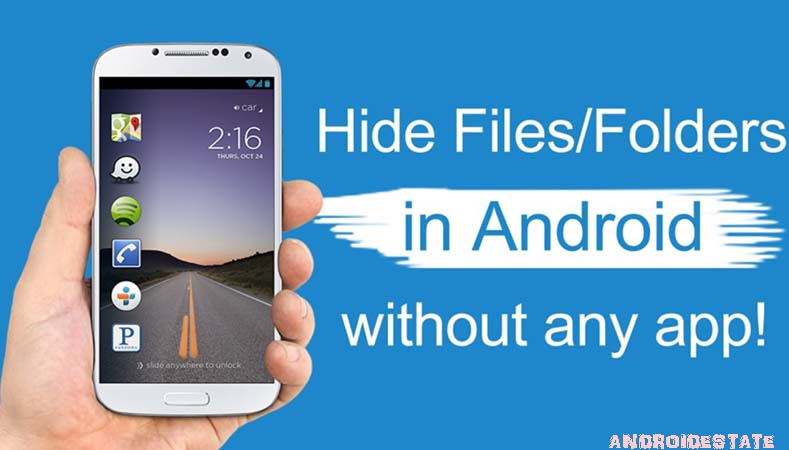 How to hide photos in phone