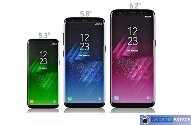 Galaxy s9 leaks