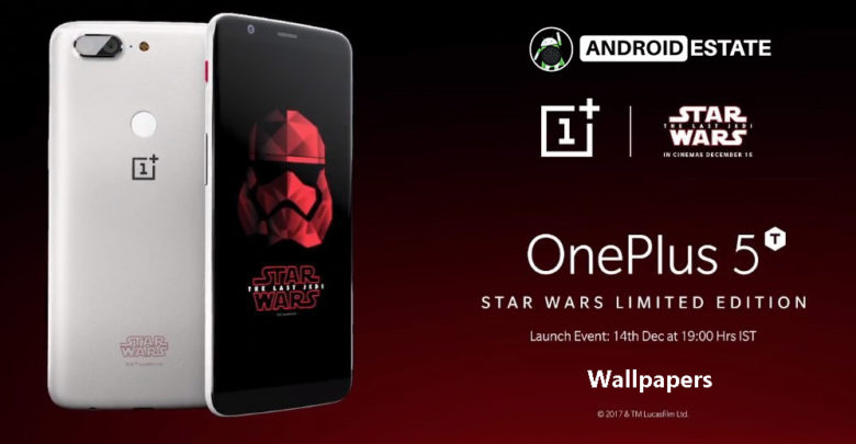 OnePlus5T Star Wars wallpapers
